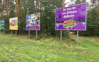 Großformatdruck Digitaldruck für das Heide Park Resort aus Celle