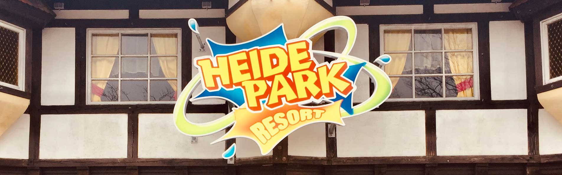 Leuchtschild Heide Park Resort aus Celle